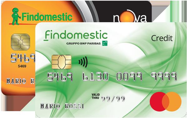 Carte di credito findomestic richiedi online carta nova for Carta di credito per minorenni