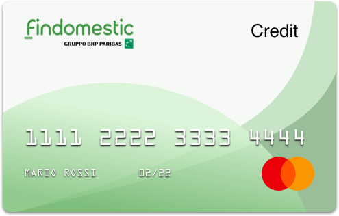 Carta di credito Findomestic